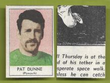 Plymouth Argyle Pat Dunne 1969